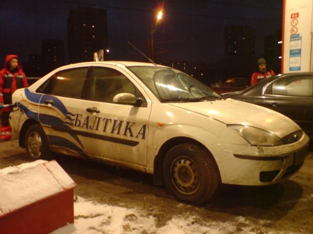 Балтика – корпоративные автомобили супервайзера, ТСМа, КАМа